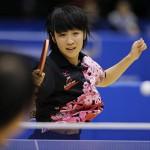 平野美宇の父親と母親は卓球選手?兄弟姉妹や子供の頃の画像も